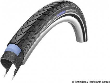 Schwalbe plášť Marathon Plus 37-622 SmartGuard černá+reflexní pruh