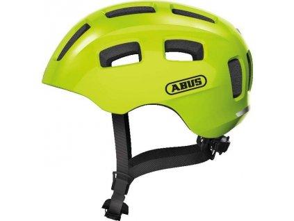 ABUS Youn-I 2.0 - signal yellow - vel. M - dětská helma