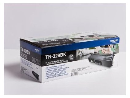 Brother toner TN-329BK, black (6.000 stran) - originální