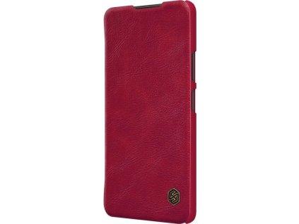 Nillkin Qin Book Pouzdro pro Xiaomi Redmi Note 10 Pro/10 Pro Max, Red - červené