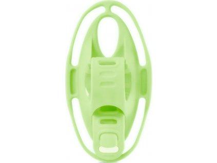 "BONE Bike Tie 4 - Luminous Green, držák na kolo pro mobil 4.7-7.2"""