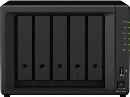 Synology DS1520+ záruka 5 let (DS1520+ + EW201)