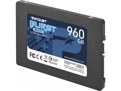 """Patriot Burst Elite 2.5"""" SATA SSD 960GB"""