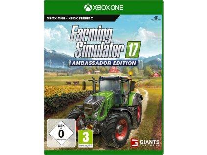 XBOX ONE - Farming Simulator 17: Ambassador Edition