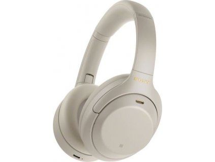 Sony Hi-Res WH-1000XM4, stříbrná, model 2020