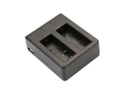 Niceboy duální externí nabíječka pro baterie SJCAM (3.7V, 900mAh)