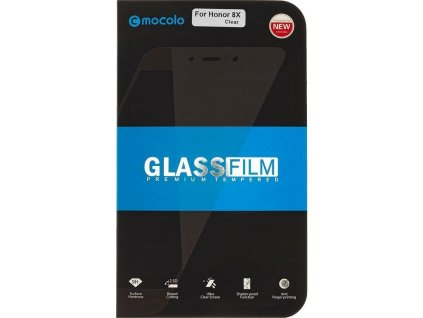 Mocolo 5D Tvrzené Sklo pro Xiaomi Redmi Note 8 - Black - černé okraje