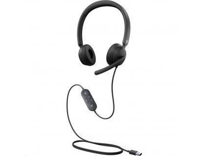 Microsoft Modern USB Headset, Black