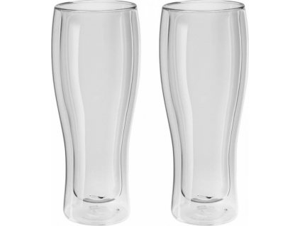 Zwilling Sorrento dvoustěnná sklenice na pivo 414ml - 2ks