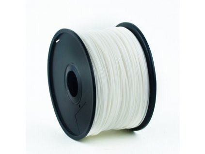 Gembird filament ABS 1.75mm 1kg, bílá