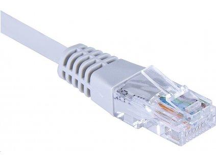 Masterlan comfort patch kabel UTP Cat6,1m,šedý