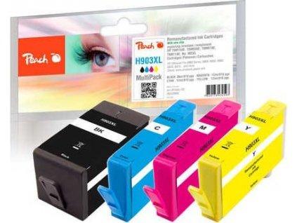 Peach H903XL CombiPack kompatibilní s HP No. 903XL