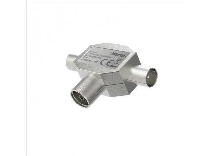 Hama anténní rozbočovač pro TV, koax zásuvka - 2 koax vidlice (205236)