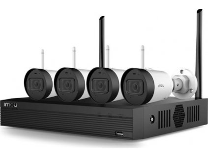 IMOU 1TB Wi-Fi NVR + 4x WiFi CAM KIT/NVR1104HS-W-4KS2/4-G22 (Wireless Security System)