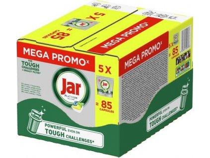 Jar kapsle na nádobí Platinum Yellow 5x17 ks BOX