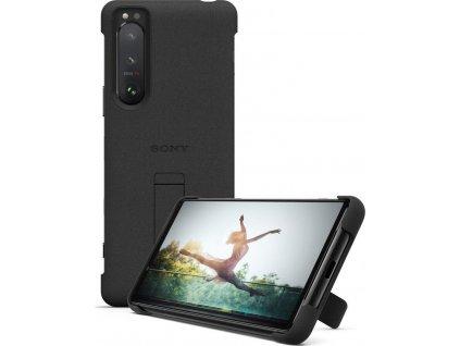 SONY Stand Cover pro Xperia 5 III 5G černý