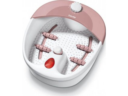 Beurer FB 20 Masážní přístroj na nohy, bílo/růžová