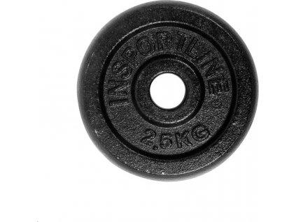 Kotouč inSPORTline  2,5kg, kovový, pro 30mm tyč