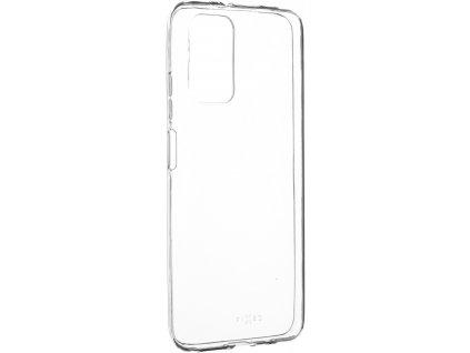 Ultratenké TPU gelové pouzdro FIXED Skin pro Xiaomi Redmi 9T, 0,6 mm, čiré