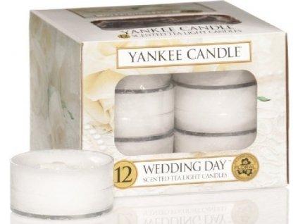 Yankee Candle Wedding Day čajová svíčka 12x9,8 g