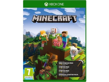 Minecraft Starter Collection (Xbox One) (44Z-00124)