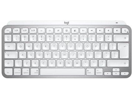 Logitech MX Keys Mini Minimalist Wireless Illuminated Keyboard - PALE GREY (US verze)