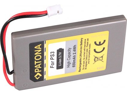 Patona PT6508 - Sony Playstation Dualshock PS3 650mAh Li-lon 3,7V