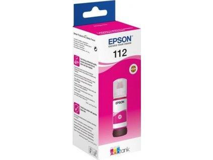 Epson EcoTank 112 Magenta, purpurová