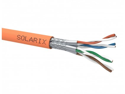 SOLARIX kabel, CAT7, SSTP LSOH, 500m, špulka