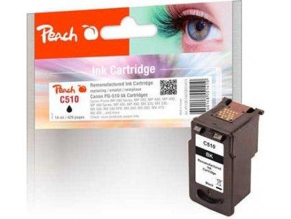 Peach C510 černá kompatibilní s Canon PG-510