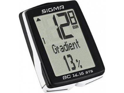 SIGMA cyklopočítač BC 14.16 STS CAD - bezdrátový