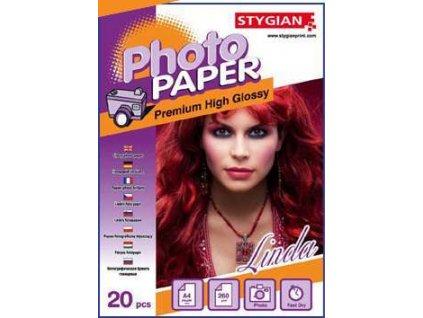 Fotopapír pro ink tiskárny FOTOPOHLEDNICE  (10x15) 5 listů