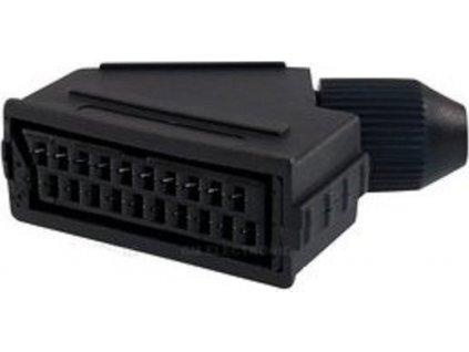 Konektor SCART F, rozebíratelný