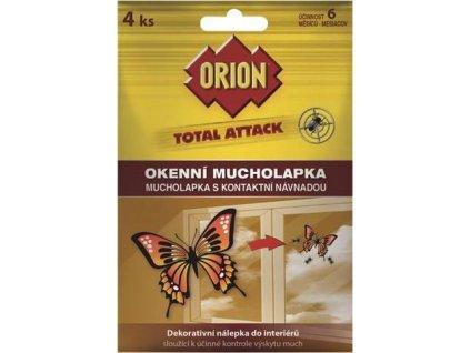 Orion Total Attack okenní mucholapka 4ks