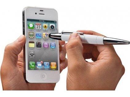 Kuličkové pero Pionner bílé (26125099)