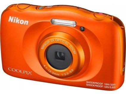 Nikon COOLPIX W150 Orange + batoh (VQA112K001)