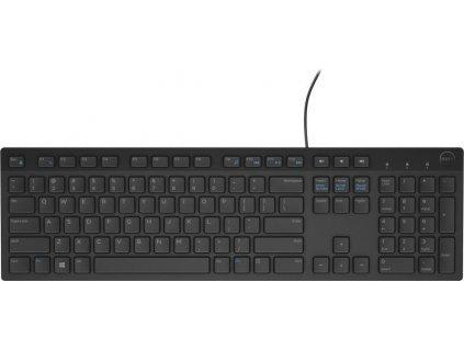 Dell KB-216 Klávesnice,drátová,multimediální,USB,černá,ruská