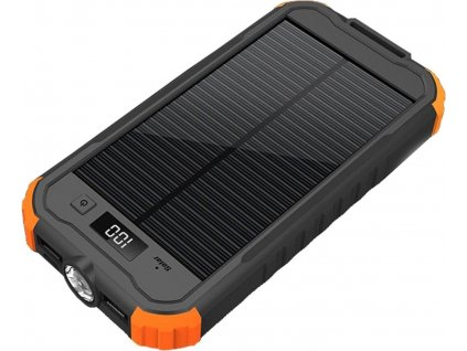 Viking Charlie Solar 12000mAh černo oranžová
