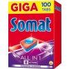 Somat tablety do myčky All in One 100ks