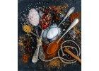 Koření, oleje, pesta, čatní a zelené potraviny