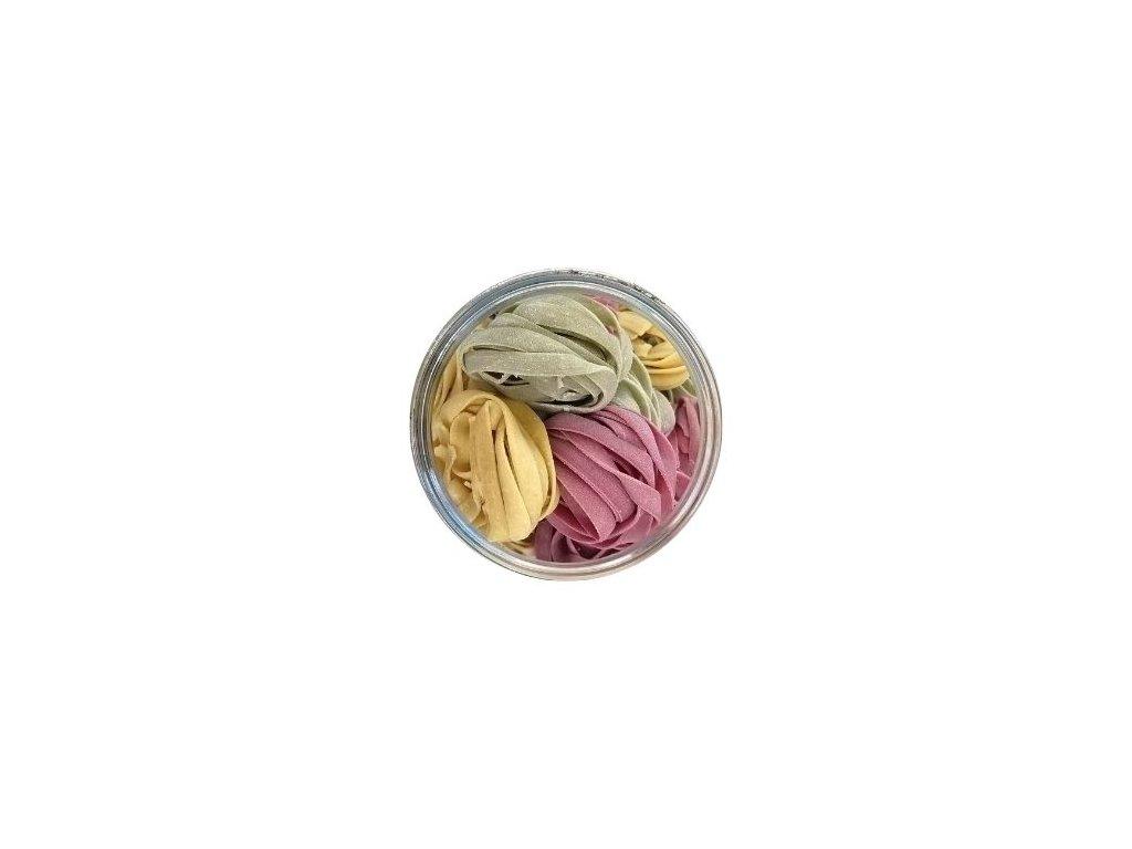 tagliatele pšeničné barevné