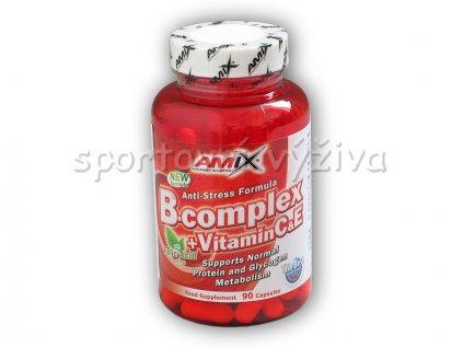 B-Complex + Vitamin C + Vitamin E 90 kapslí