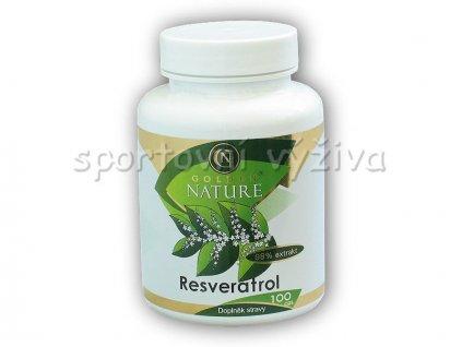 Resveratrol 98% extrakt 100 kapslí