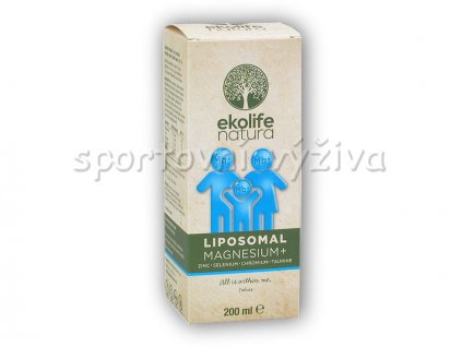 Liposomal Magnesium+ 200ml