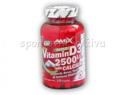 Super Vitamin D3 2500I.U. with Calcium 120cps