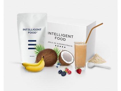 INTELLIGENT Food - Koktejl ze superpotravin (4x)