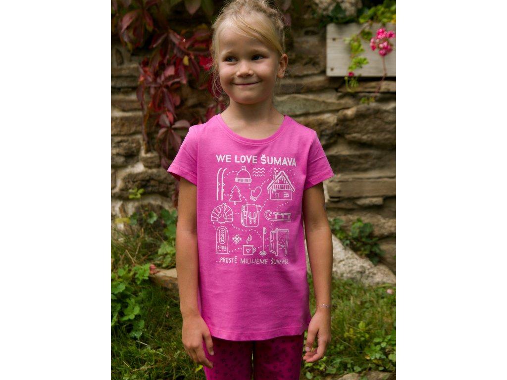 detske BIO 8007g pink predek