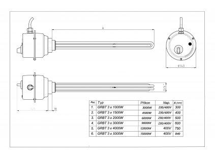 T 4,5 9 typ GBRT (400V)