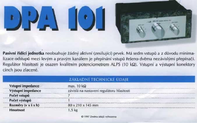Dudek DPA 101