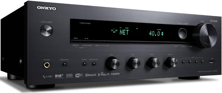 Síťové stereo receivery
